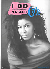 NATALIE COLE 1988 Sheet Music I DO Duet with FREDDIE JACKSON