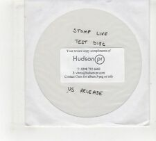 (GV357) Stomp Live, Test disc - DJ DVD