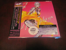 AEROSMITH Just Push Play JAPAN REPLICA TO THE ORIGINAL LP IN A OBI SEALED CD