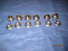 MG  SET OF 6  TENAX HOOD FASTENERS,  *** zd 37