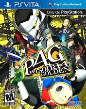 Persona 4 Golden (Sony PlayStation Vita, 2012) NEW