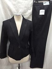 "KASPER PANT SUIT/NEW WITH TAG/SIZE 16/RETAIL$200/INSEAM 32""/DENIM FABIRC"