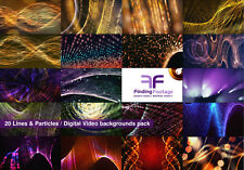 20 digital video backgrounds Royalty free / Download / Vj loops / stock video