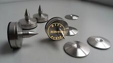 3Set Acoustic solid Steel 35*34mm Speaker Spike Feet Stand Cone Base HiFi spikes