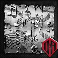 HYDROGRAPHIC WATER TRANSFER HYDRO DIP FILM HYDRODIP HYDRODIPPING MUSIC NOTES