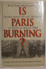 WW2 Is Paris Burning Miraculously Escaped Hitler's Death Sentence Reference Book