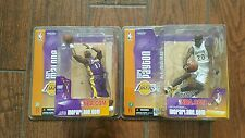 McFarlane NBA Series 6 Gary Payton LA Lakers & Series 6 Karl Malone LA Lakers