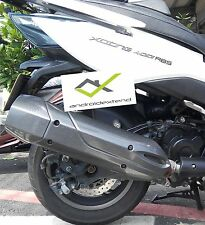 KYMCO XCITING 400 ORIGINAL EXHAUST HEAT PROTECTION COVER WITH CARBON LOOKS