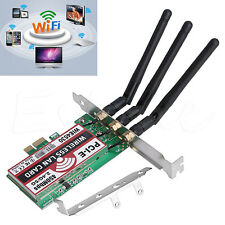 Dual Band 450M LAN Wifi Wireless PCI-e 1X Wlan adapter for hackintosh PC Desktop
