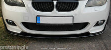 BMW E60 E61 M-Sport Front Bumper spoiler lip chin M Power tuning 5 serie M-Tech