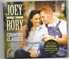 "JOEY & RORY, CD ""COUNTRY CLASSICS"" NEW SEALED"