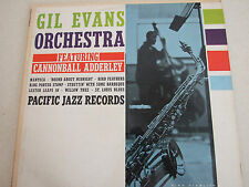 Gil Evans Orchestra-Featuring Cannonball Adderley-Pacific Jazz 40 LP
