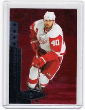 10-11 2010-11 BLACK DIAMOND HENRIK ZETTERBERG RUBY RED /100 191 DETROIT RED WING