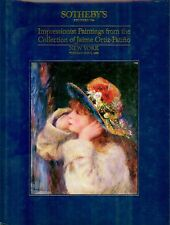Sotheby's Jaime Ortiz-Patino Collection of Impressionist Paintings NY May 9 1989