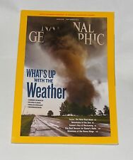 NATIONAL GEOGRAPHIC MAGAZINE SEPTEMBER  2012 - WHATS UP WITH THE WEATHER