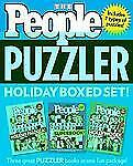PEOPLE Puzzler Holiday Boxed Set, Editors of People Magazine, Good Book