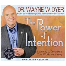 The Power of Intention 2-CD Set: Learning to Co-Create Your World Your Way by