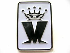 MADNESS - OFFICIAL BLACK M LOGO ENAMEL BADGE - MINT CONDITION - SUGGS TWO TONE