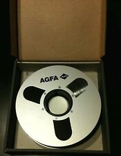 "AGFA Professional PEM 468 2"" Mastering  Tape 2500 ft with box on Reel"