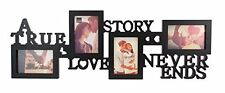 Kiera Grace Collage Picture Frame 10 by 30 Inch Holds 4- 4 by 6 Inch Photos B...