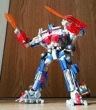 """Transformers ROTF leader class Optimus Prime toy figure 12"""" lights & sounds"""