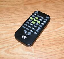Remote Control For Audiovox (PVs72901) Portable DVD Player - Green Button *READ*