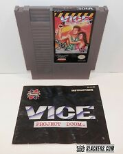 VICE Project Doom (Nintendo Entertainment System 1991) CART + MANUAL NES