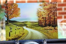 3D Effect Lenticular Printing Moving Picture Wall Decor * Collie and Sheep*
