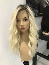Yaffa Wigs Ready To Wear Platinum Blonde Human Hair Wig