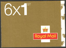 SA2 / SB5(15) 4 x 1st Class + 2 x Smilers Self-Adhesive Booklet