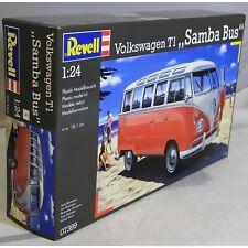 Revell 1:24 07399 VW T1 Samba Bus Modelo Kit de coche