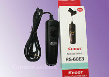 Remote Shutter Release Switch Control RS-60E3 For Canon 750D  650D 700D 1200D