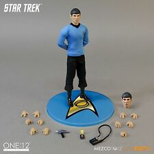 """One: 12 Collective Star Trek SPOCK 6"""" Action Figure Mezco Toyz 1/12 IN STOCK"""