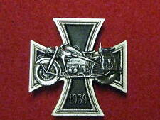 Iron Cross/Motorcycle Commemorative Badge 1939