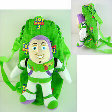 Toy Story Buzz Lightyear Soft Plush Doll Water Bottle Shoulder Bag + CHARM