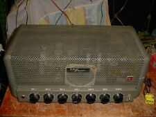 DuKane Model 1U460 Tube Amplifier 6L6GC/5881 Mic Preamp Guitar Amp Gone Through