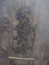 ANTIQUE AMERICAN CANINE VICTORIAN STANDING DOG HAT ARTISTIC FUNNY TINTYPE PHOTO