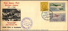 INDIA -1961-First Aerial Post, Golden Jubilee, First Day Cover