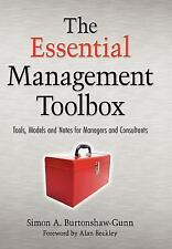 The Essential Management Toolbox : Tools, Models and Notes for Managers and…