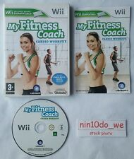 My Fitness Coach CARDIO WORKOUT (Wii) & U=Health+Fit+Exercise+Box+Jog=NEAR MINT✔