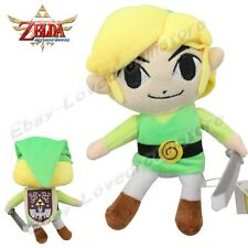 "The Legend of Zelda Link Sword and Shield Ver. 15cm/6"" Plush Toy Doll S Size"