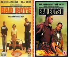 BAD BOYS MOVIES DVD PART 1 + 2 WILL SMITH MARTIN LAWRENCE ALL 2 MOVIE FILM UK