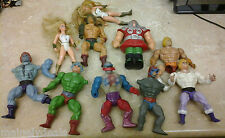 Vintage Lot of 10 Masters of The Universe/ She Ra For Repair/Custom AS-IS