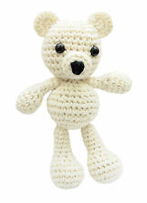 White Puppy Handmade Amigurumi Stuffed Toy Knit Crochet Doll VAC