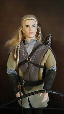 BARBIE KEN DOLL - 'LEGOLAS LORD OF THE RINGS'  - DISPLAYED ONLY - HANDSOME