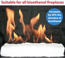 CERAMIC FIBRE HYDROPHILIC BIOETHANOL FIREPLACE FIREPLACES 300 X 100 X 25 mm