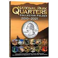 Whitman Coin Folder #2883 National Park Quarters 2010 - 2021