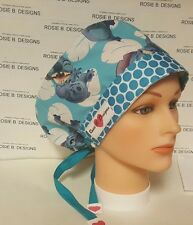 LITTLE  STITCH  / PIXIE HAT/ SCRUB SURGICAL/ MEDICAL/ CHEMO CAPS