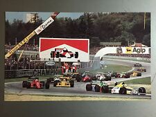 1990 German Touring Car Championships Print, Picture, Poster RARE!! Awesome L@@K