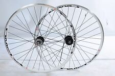 PAIR 700c FIXIE FLIP FLOP WHITE PROFILE WHEELS MACH I PROFILE CLINCHER 622 RIMS